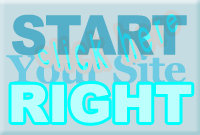 Starting Your Site Right